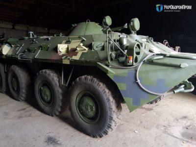 Київський бронетанковий завод достроково виконав контракт з ремонту бронетранспортерів БТР-80