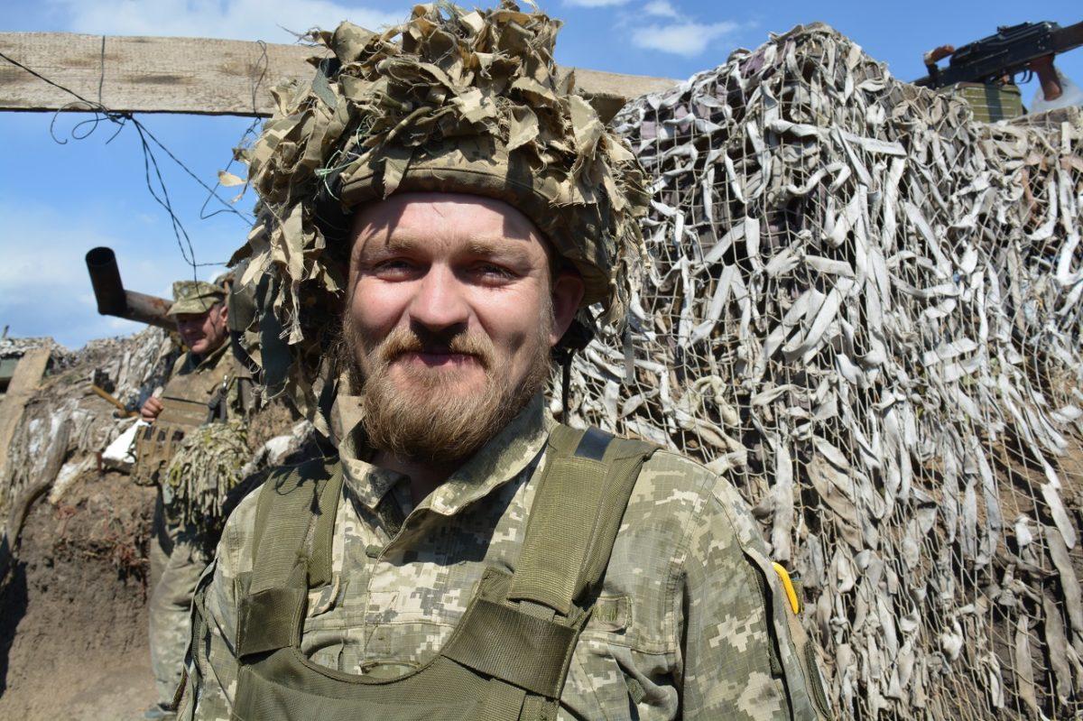 «Дзідзьо» розповів, як вісім місяців воював поблизу Широкиного