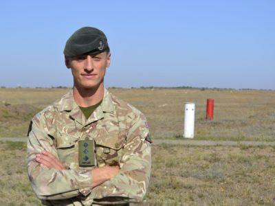 Капітан британської армії Джеймс Фреді: «Думаю, ми будемо відходити від базових навчань й перейдемо на більш поглиблену інституційну підготовку українських військових»