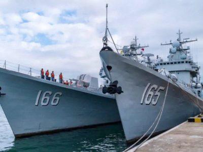 Військовий флот Китаю поповнився новими  есмінцями