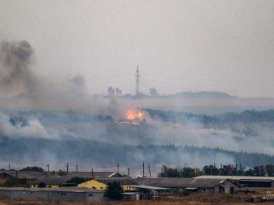 У Краматорську ліквідували масштабну лісову пожежу