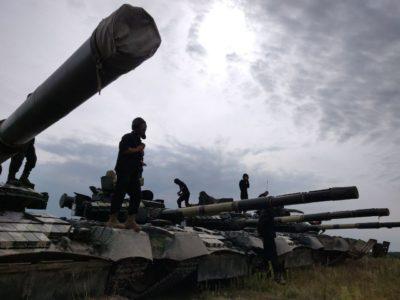 У Збройних Силах України стартував чемпіонат серед танкових взводів