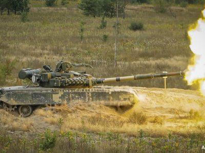 Стрільби на великі відстані — перша номінація чемпіонату танкових взводів