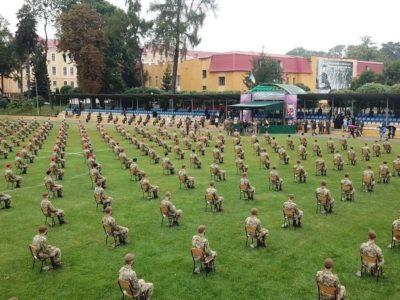 Цьогорічний набір до Національної академії сухопутних військ — один з найбільших за всю її історію