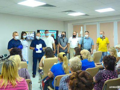 У Дніпрі родини загиблих героїв отримуватимуть довічний медичний супровід у лікарні Мечникова