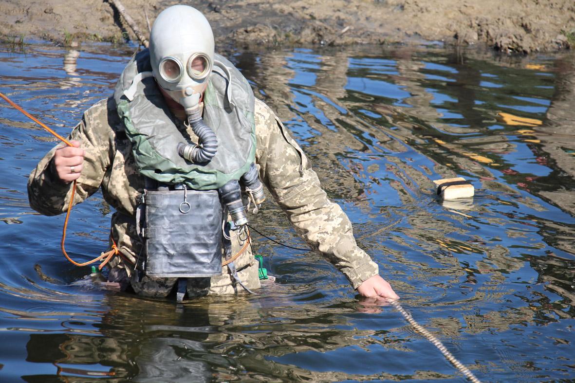 Як танкісти під водою ходили