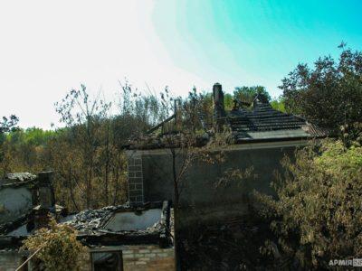 «Дякуємо військовим, які врятували нас від вогню!» – мешканці Кримського
