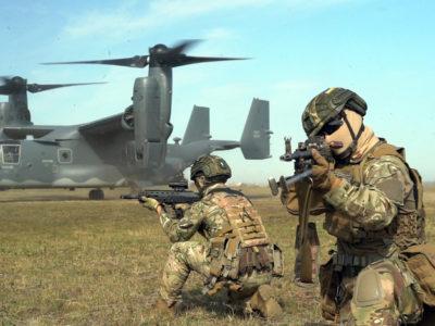 Українські та американські спецпризначенці без парашутів десантувались на Хмельниччині