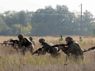 «Об'єднані зусилля – 2020»: на Харківщині воїни тероборони вчилися швидко реагувати на складні ситуації