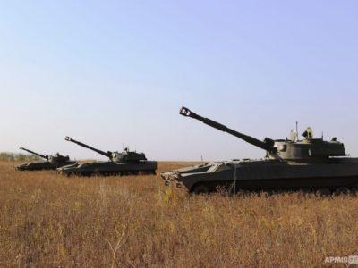 «Об'єднані зусилля – 2020»: артилерія ДШВ тренується знищувати катери умовного противника в акваторії Азовського моря