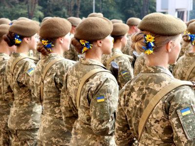 Понад 500 дівчат цього року вступили до військових вишів