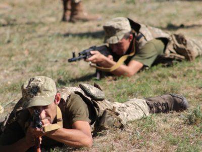 Корпус резерву продовжує бойову підготовку