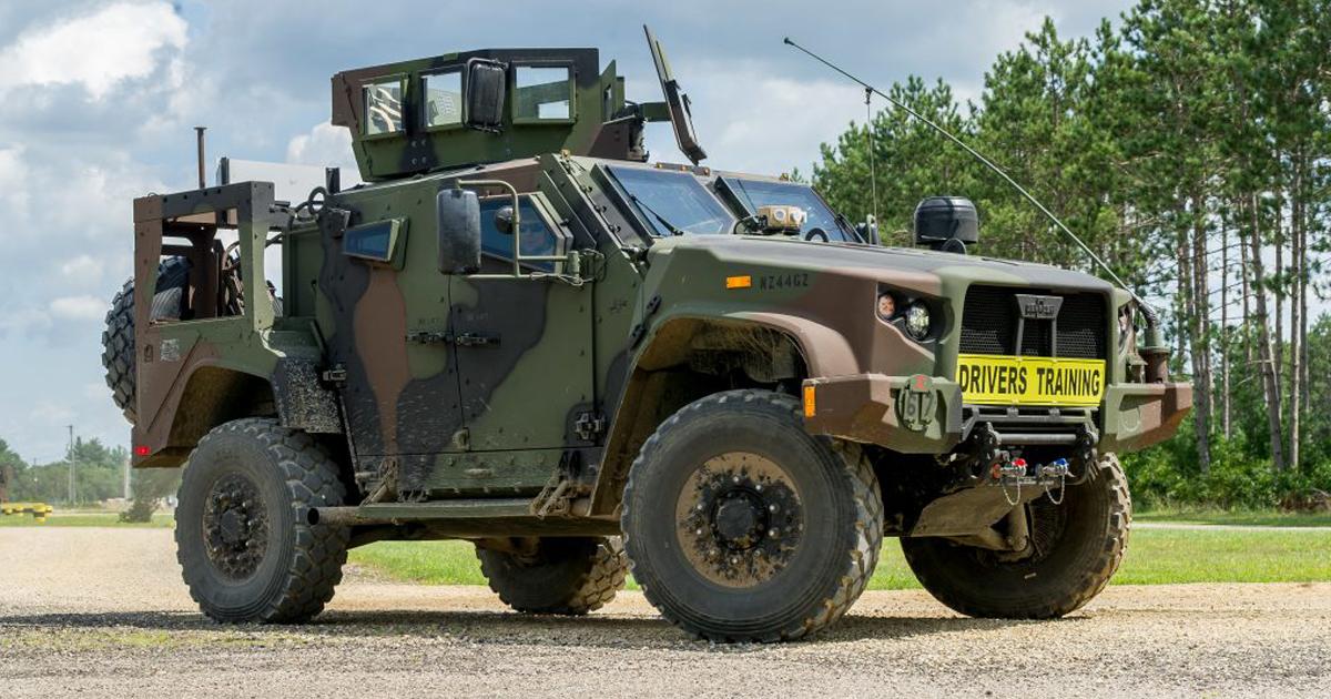 Бельгія придбає понад три сотні бронеавтомобілів JLTV