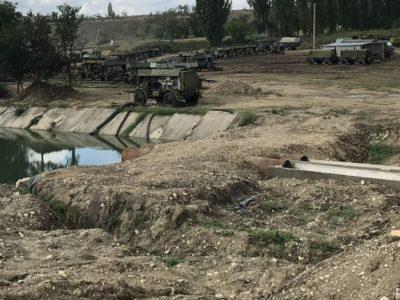 Щоб забезпечити водою Сімферополь, російські окупанти перекрили річку Біюк-Карасу
