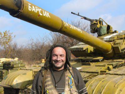 Оборонці ДАПу добре пам'ятають танк на ім'я «Барсик»
