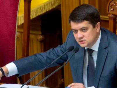 Дмитро Разумков закликає Конгрес США продовжувати санкційну політику, щоб не допустити запуск «Північного потоку-2»