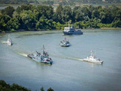 В акваторії річки Дунай стартувало двостороннє українсько-румунське навчання Riverine-2020