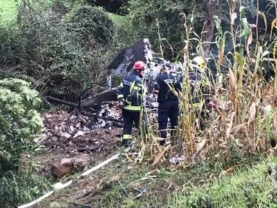 У Сербії розбився військовий літак