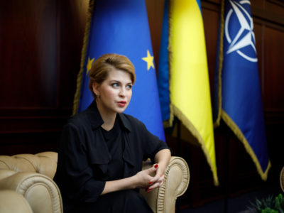 «Сьогоднішня ситуація на Донбасі не перешкоджає  вступу України до НАТО», – Олена Стефанишина