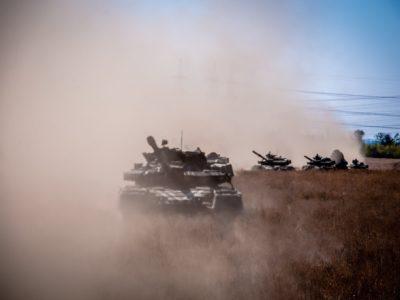 ООС: за лічені хвилини танкові резерви готові вийти на вогневий рубіж