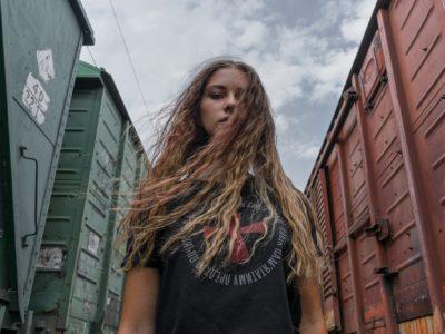 Учасниця АТО представила власний бренд одягу із символікою Волині