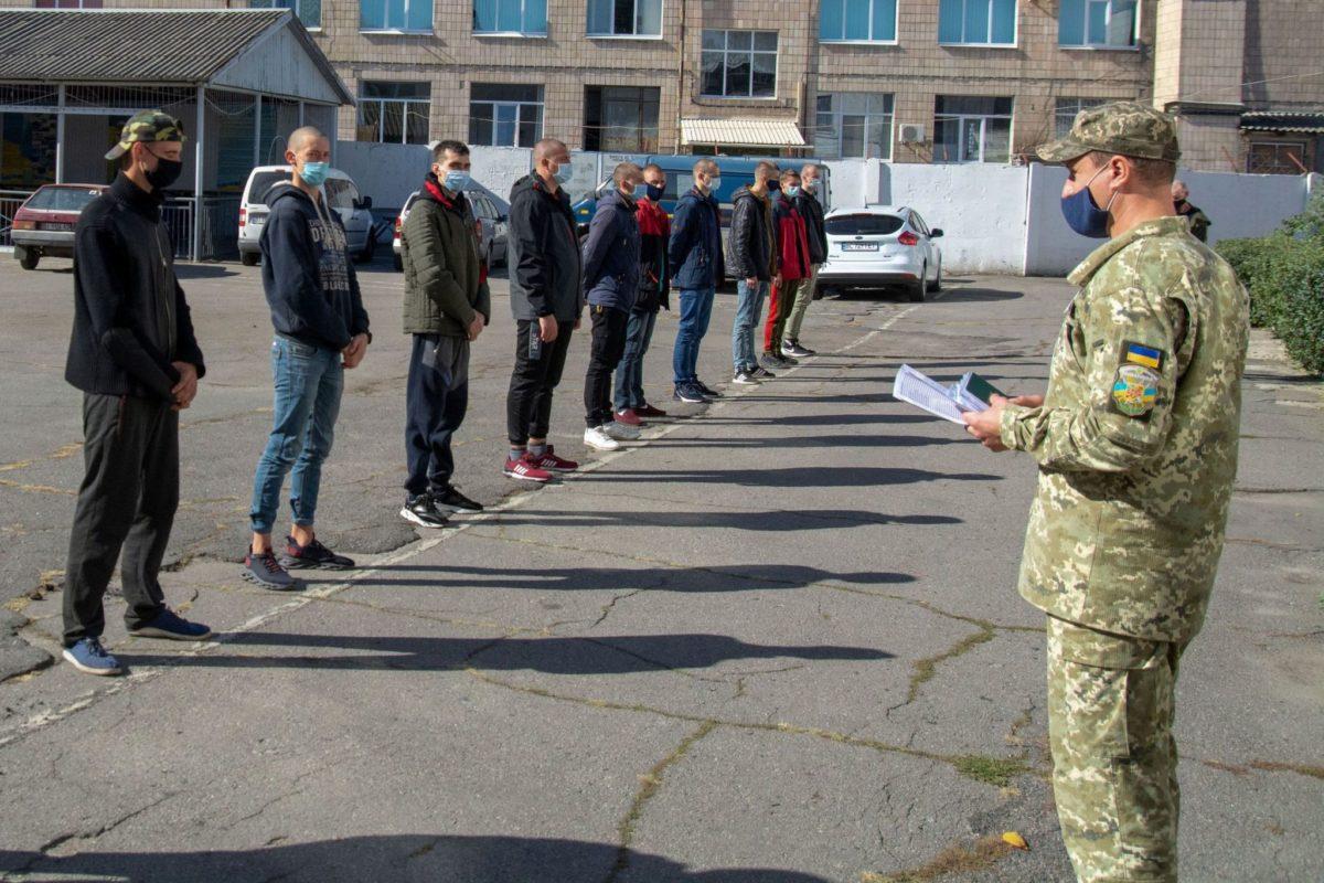 Майже 300 призовників з Полтавщини поповнили українське військо