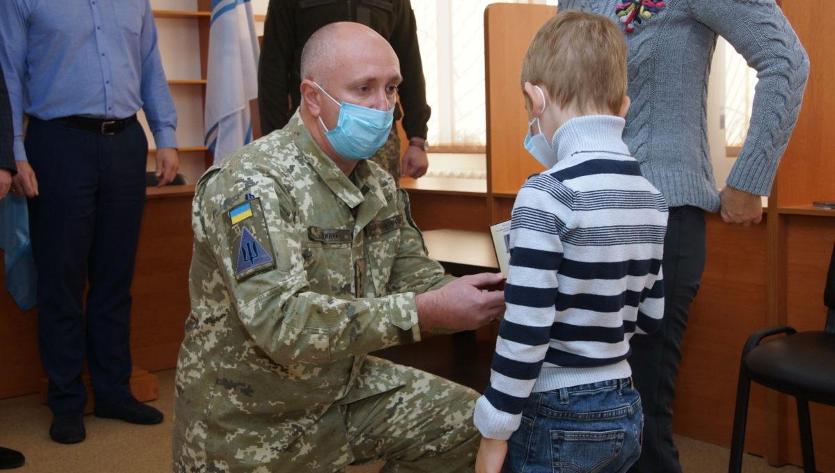 На Харківщині посмертно нагородили членів екіпажу літака Ан-26Ш