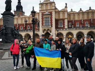 Уже вдруге Польща прийняла на реабілітацію родини українських військових