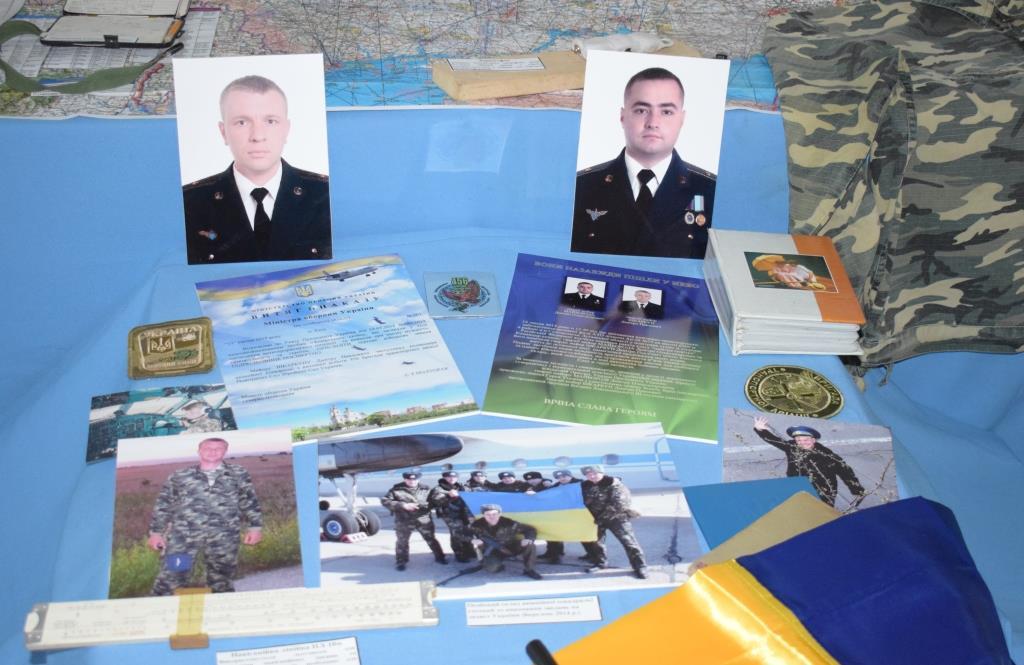 На Вінниччині відкрили експозицію пам'яті льотчиків Дмитра Майбороди та Дмитра Шкарбуна