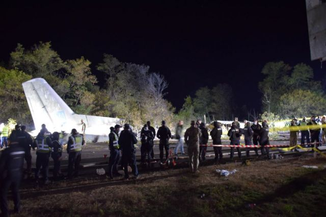 В урядовій комісії назвали причини аварії катастрофи АН-26