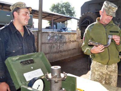 Криворізькі танкісти готують техніку до експлуатації в осінньо-зимовий період