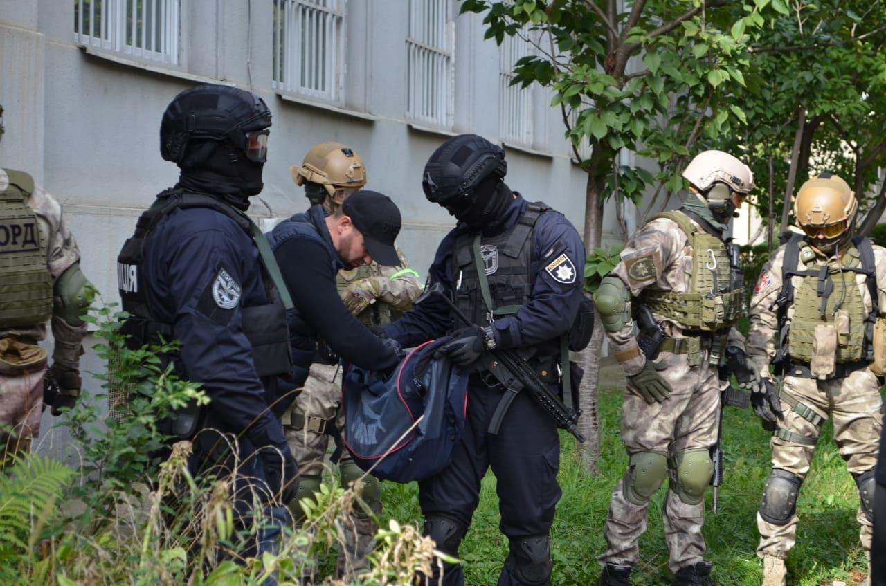 На Закарпатті відбулись антитерористичні навчання силовиків