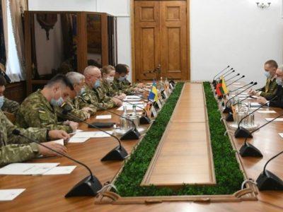У Києві обговорили розвиток військового співробітництва України та Литовської Республіки