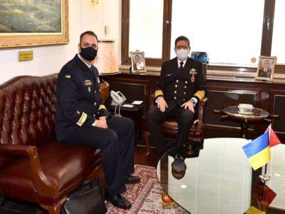 Очільники українських та турецьких ВМС обговорили розвиток воєнно-технічної співпраці в морській галузі