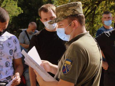 Стартує призов офіцерів запасу на військову службу