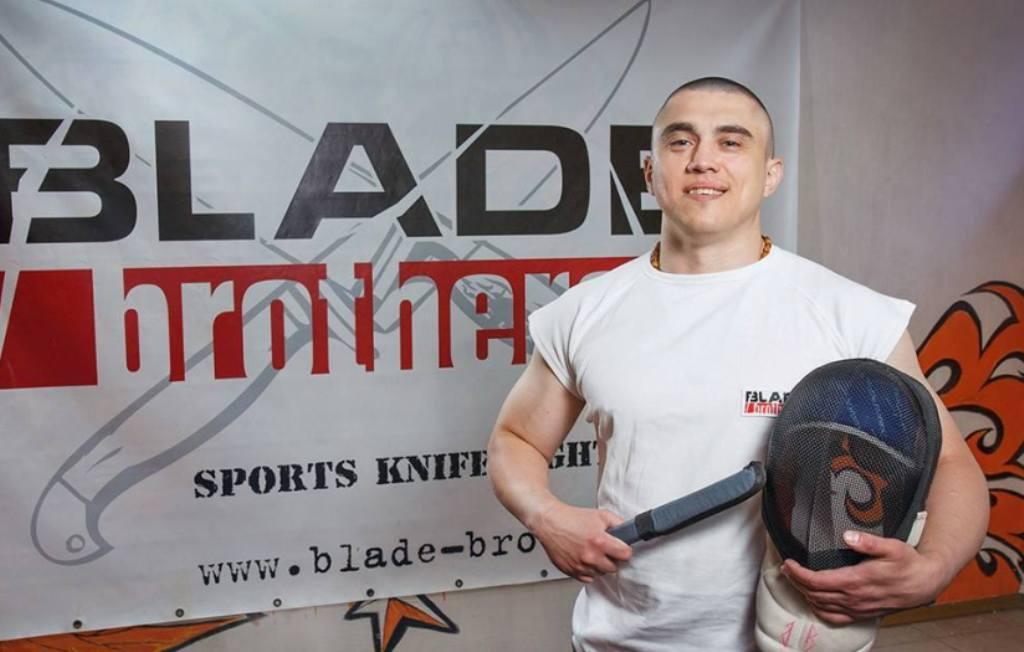«Клинковий брат» Олександр Воробєй: «Майструю ножі, бо знаю, як ними битися!»