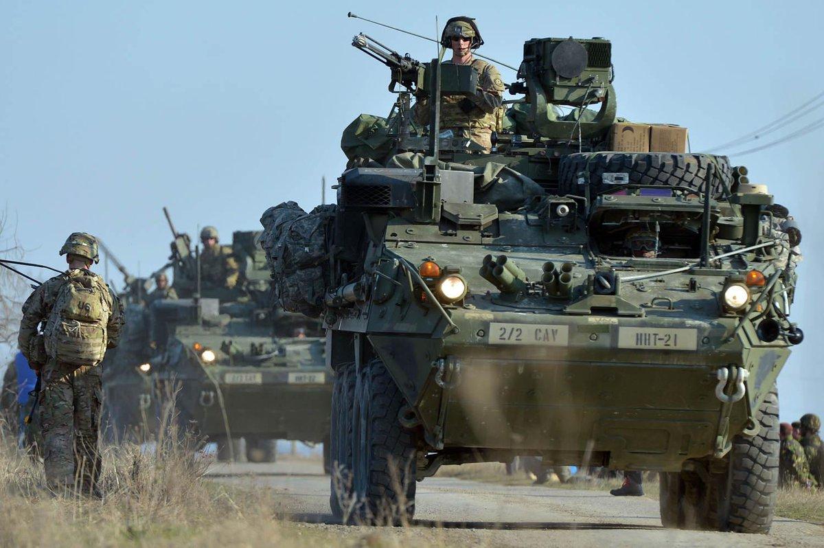 США у відповідь на агресію РФ проти України проводять чергову ротацію військ у Європі