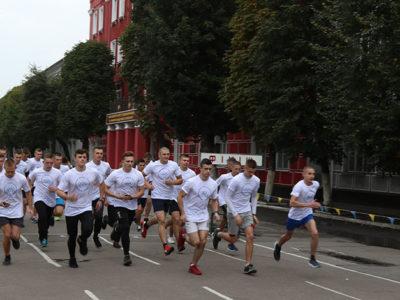 Для курсантів ВІТІ військовослужбовці-олімпійці провели Олімпійський урок
