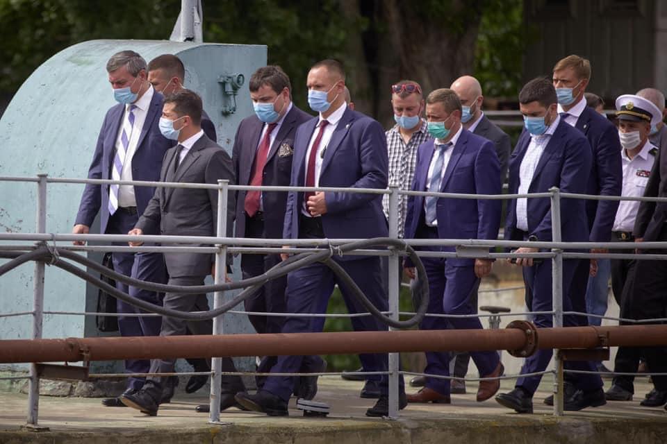 На Херсонщині збудують плавучий причал для ВМС ЗС України
