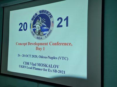 В Одесі відбулась плануюча конференція щодо українсько-американських навчань «Сі Бриз – 2021»