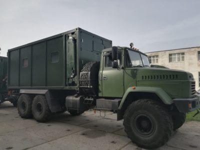У ЗС України випробовують сучасний мобільний пункт управління