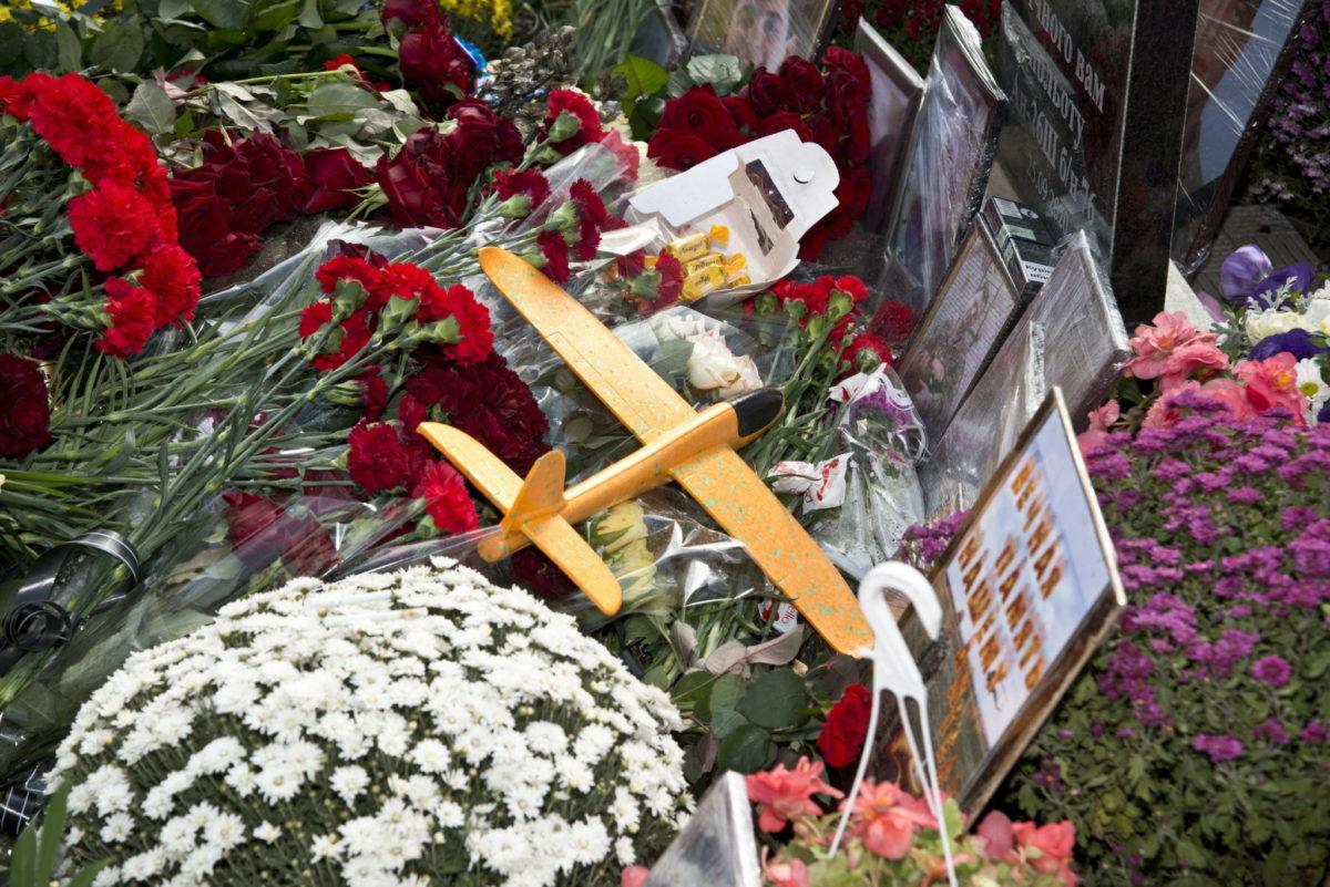 На місці авіакатастрофи Ан-26 відбулася панахида за загиблими