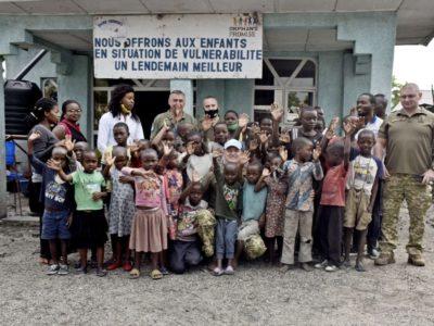 Військовослужбовці національного контингенту передали допомогу конголезьким дітям-сиротам