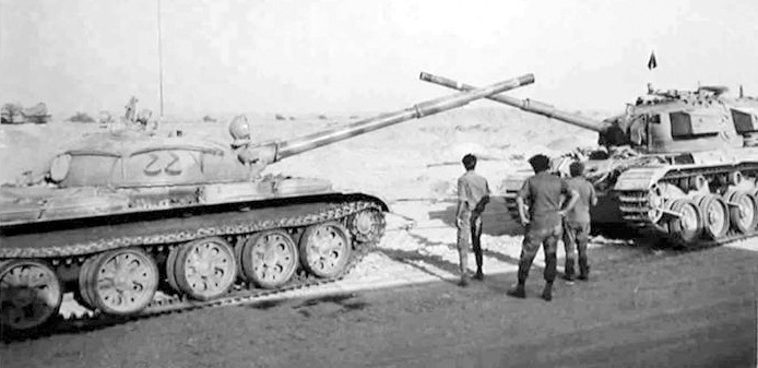 У 1973 році відбулась найбільша після Другої світової танкова битва