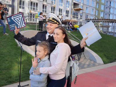 До Дня захисника України військові моряки отримали квартири