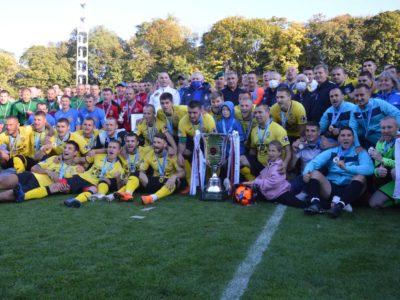 Футбольна команда «ДонОВК» ЗСУ стала віце-чемпіоном України з футболу серед колективів Ліги учасників АТО