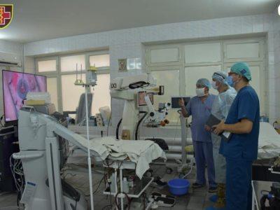 Новітнє обладнання офтальмологічної клініки Південного регіону повертає зір пораненим військовим
