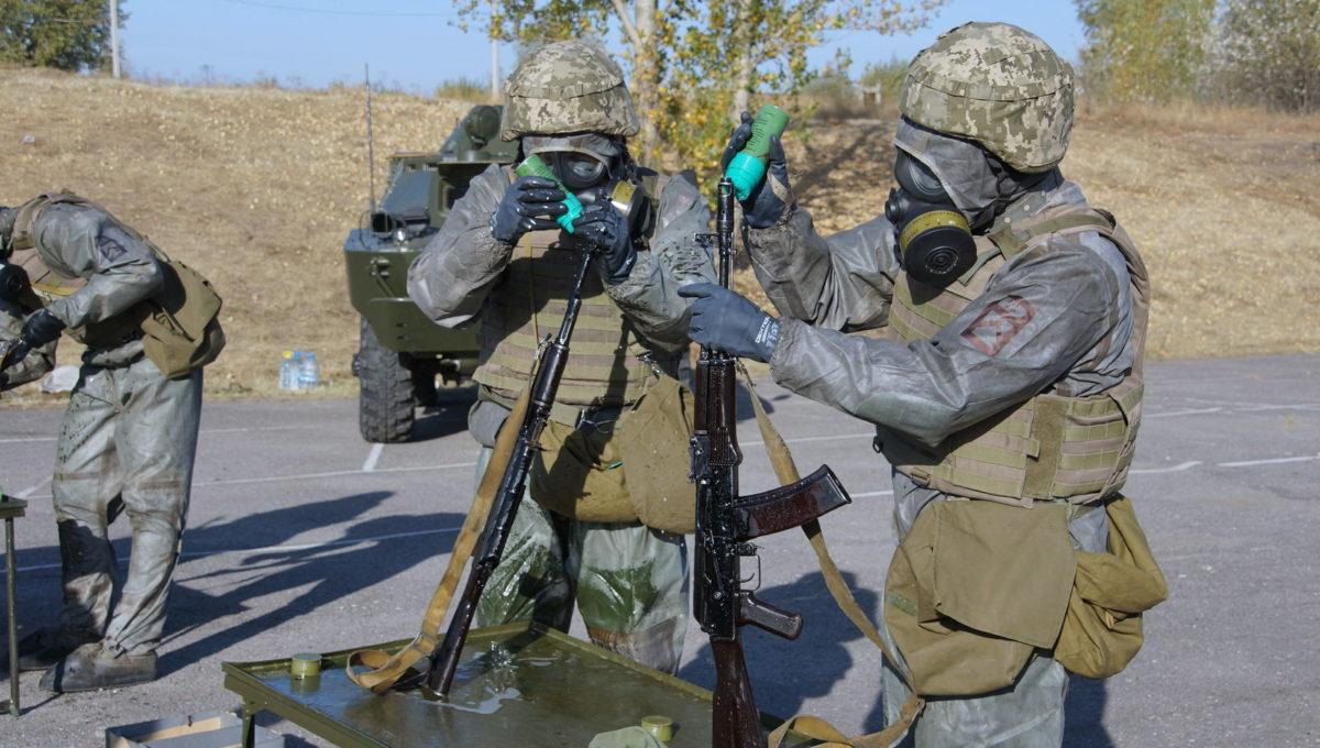 У Сухопутних військах визначили  найкращий взвод РХБ розвідки
