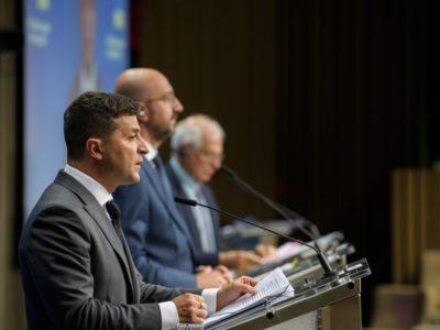 ЄС високо оцінив зусилля України щодо мирного врегулювання ситуації на Донбасі – Президент