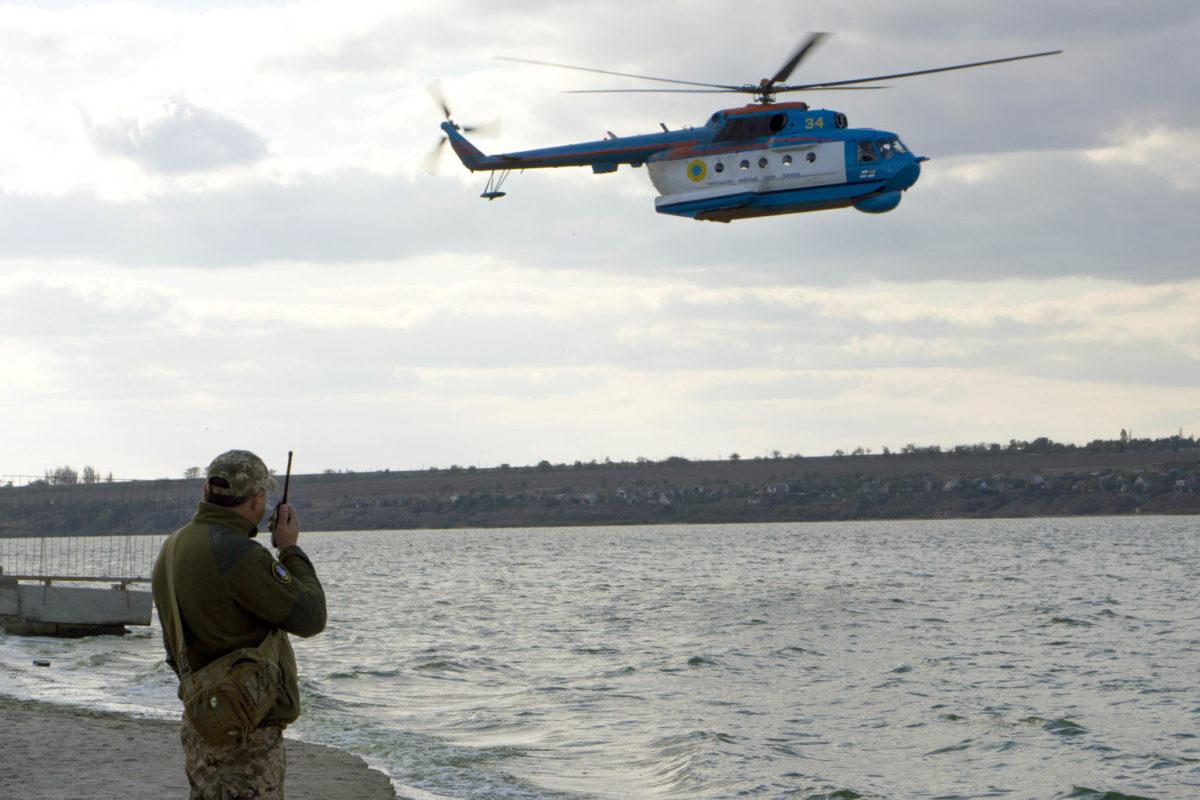 Морські авіатори продемонстрували британським колегам свої можливості як над морем, так і в гірській місцевості